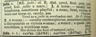 Jade definition 1913