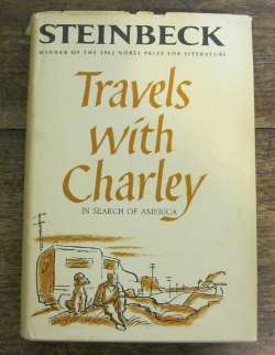 My copy of Travels with Charley.