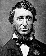 A dapper Thoreau sports a neck-beard in this June 1856 daguerreotype by Benjamin D. Maxham. Wikimedia Commons