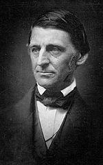 Ralph Waldo Emerson, circa 1857, retouched. Wikimedia Commons