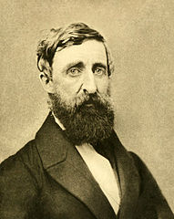 Henry David Thoreau, taken August 1861 (seven years after the publication of Walden) at his second and final photographic sitting. He died of tuberculosis less than a year later. Wikimedia Commons