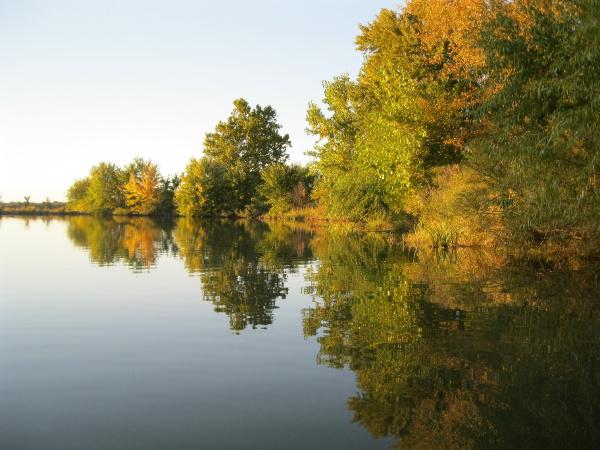 Yankee Hill Lake, near Denton, Nebraska, October 2013