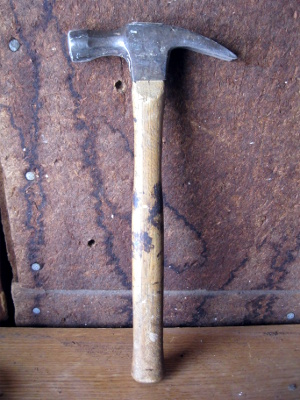 One of Dad's old hammers.