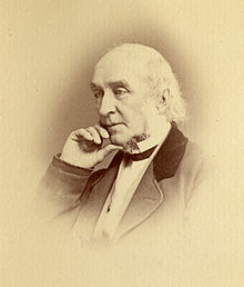 William Ellery Channing as a much older man than when Thoreau knew him. Wikimedia Commons