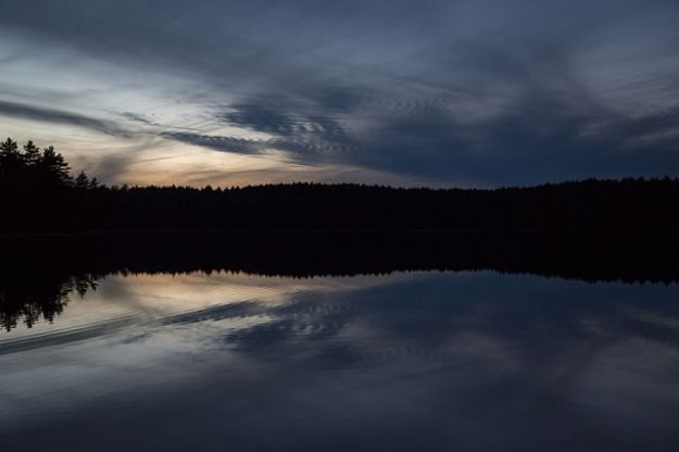 Walden Pond, via Wikimedia Commons